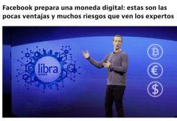 Facebook prepara una moneda digital: estas son las pocas ventajas y muchos riesgos que ven los expertos - Idealista News