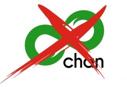 IMAGE: 8chan logo crossed out