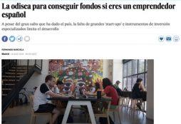 IMAGE: La odisea para conseguir fondos si eres un emprendedor español - El País