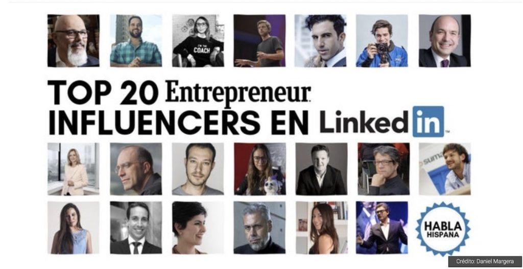 IMAGE: Los 20 influencers en español más importantes en LinkedIn - Entrepreneur