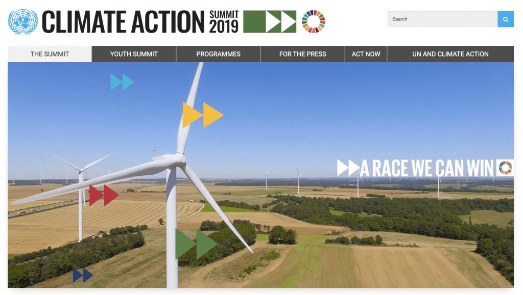 IMAGE: 2019 UN Climate Action Summit