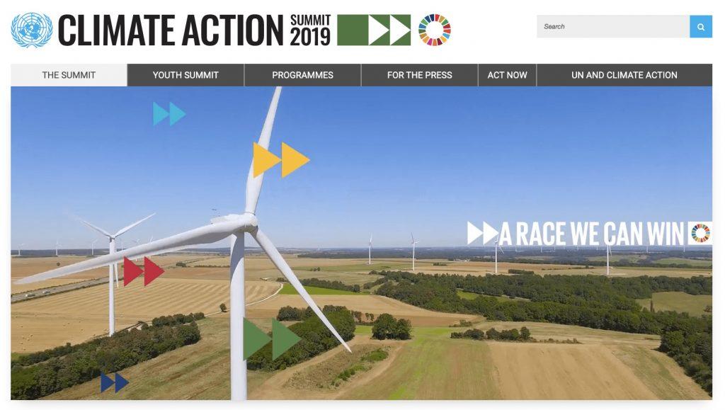 IMAGE: 2019 UN Climate Action Summit