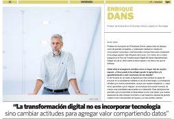 La transformación digital no es incorporar tecnología sino cambiar actitudes para agregar valor compartiendo datos - elEconomistaAgro