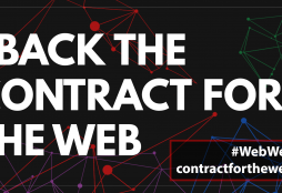 I back the contract for the web