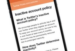 IMAGE: Twitter inactive accounts policy