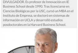 """""""La tecnología ha dado lugar a desigualdad y escenarios poco apetecibles"""" - El Correo Gallego"""