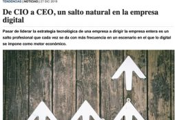De CIO a CEO, un salto natural en la empresa digital - ComputerWorld