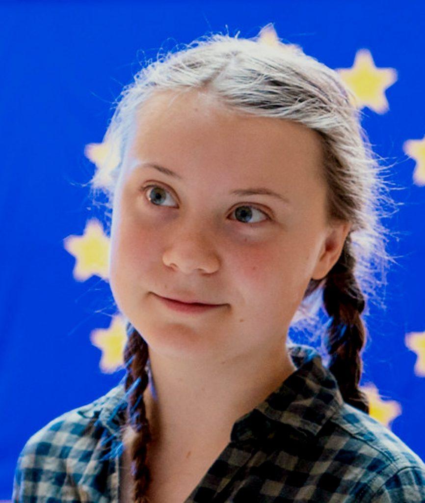 IMAGE: Greta Thunberg au Parlement Européen - European Parliament (CC BY)