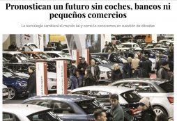 Pronostican un futuro sin coches, bancos ni pequeños comercios - VozPópuli