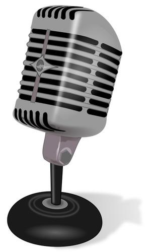 IMAGE: Antique mic (CC0)
