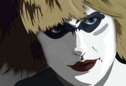 IMAGE: Pris from Blade Runner - Publicdomainvectors.org