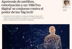 Apoteosis de satélites, robotización y un '#MeToo digital' se conjuran contra el poder de las 'big tech' - Cinco Días