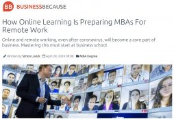 IMAGE: How Online Learning Is Preparing MBAs For Remote Work - BusinessBecause
