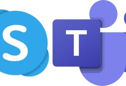 IMAGE: Skype and Teams logo - Microsoft