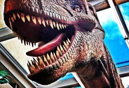 IMAGE: T. Rex in Monastiraki Square - E. Dans