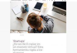¿Es tan fácil copiar en un examen virtual? Esta herramienta vigila a los alumnos - El País