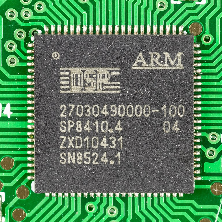 IMAGE: ARM microchip (Raimond Spekking / CC BY-SA)