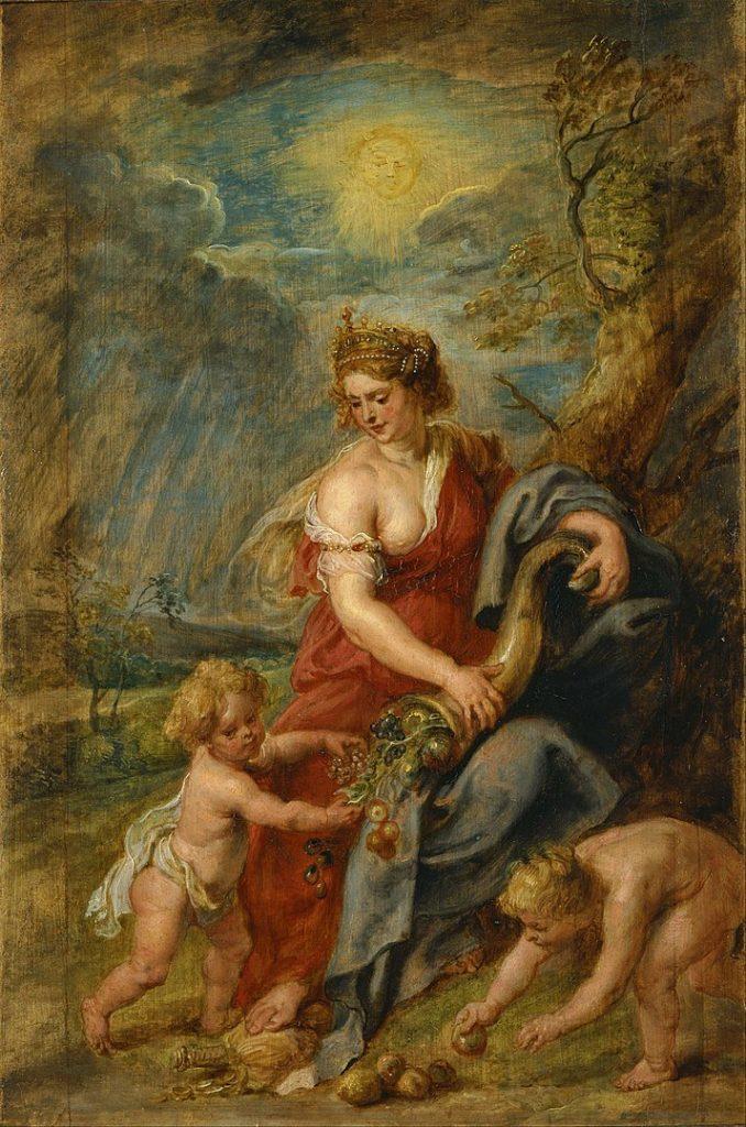 IMAGE: Abundantia - P. P. Rubens (National Museum of Western Art, Tokyo)