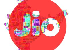IMAGE: India map and Jio Platforms logo