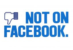 IMAGE: Not on Facebook