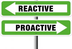 IMAGE: Proactive vs. Reactive (E. Dans - CC BY)