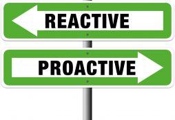 IMAGE: Proactive vs. Reactive (E. Dans - CC BY)