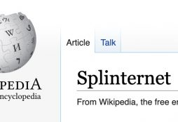 IMAGE: Splinternet definition on Wikipedia