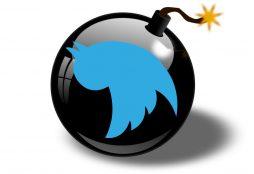 IMAGE: Twitter bomb