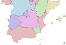 IMAGE: Spain's Autonomous Communities map