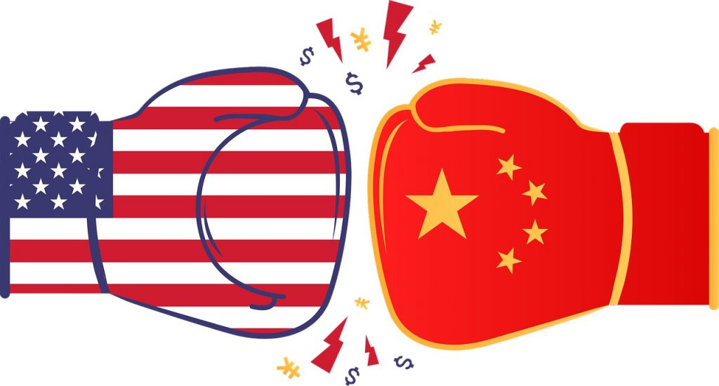 IMAGE: US vs. China - Priyam Patel on Pixabay (CC0)