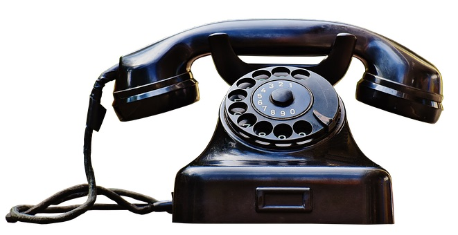IMAGE: Phone circa 1955, by Momentmal - Pixabay (CC0)