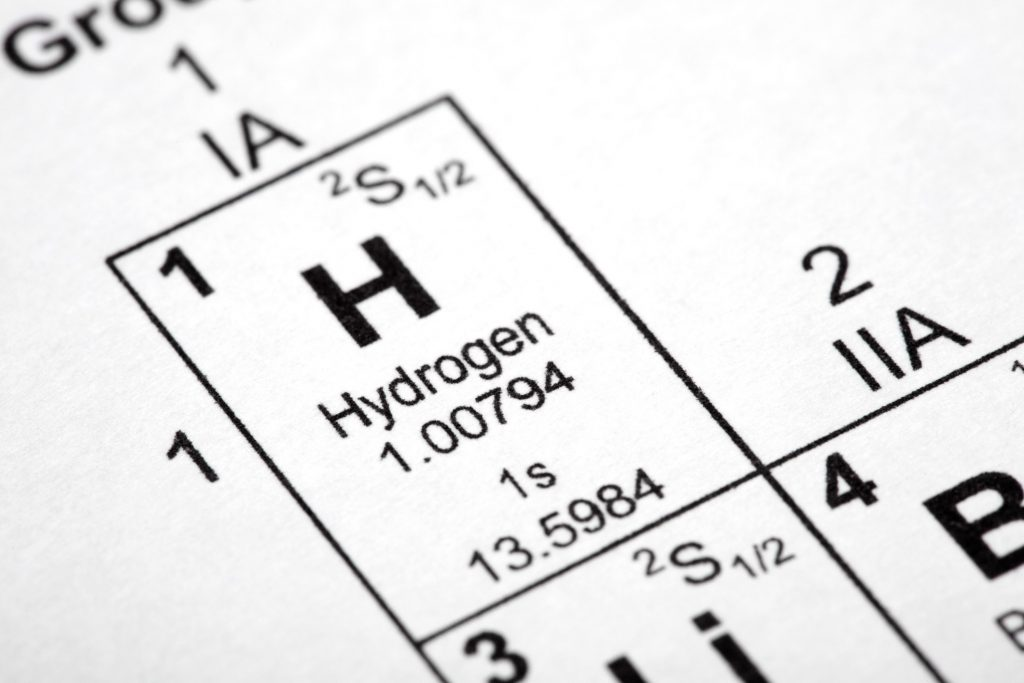 IMAGE: Hydrogen in the periodic table