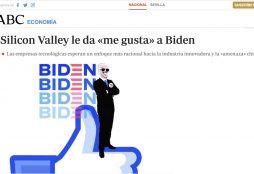 Silicon Valley le da «me gusta» a Biden - ABC