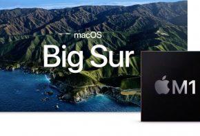 IMAGE: Big Sur and M1 chip (Apple)