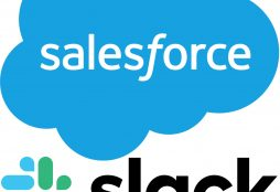 IMAGE: Salesforce and Slack logos