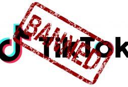 IMAGE: TikTok banned