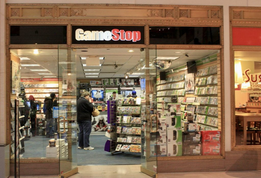 IMAGE: GameStop, by Dwight Burdette (CC BY)