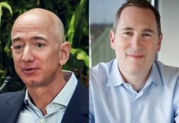 IMAGE: Jeff Bezos and Andy Jassy - Seattle City Council (CC BY) and Amazon