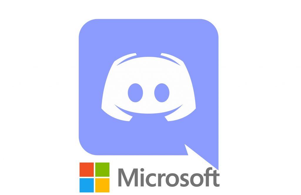 IMAGE: Microsoft and Discord logos