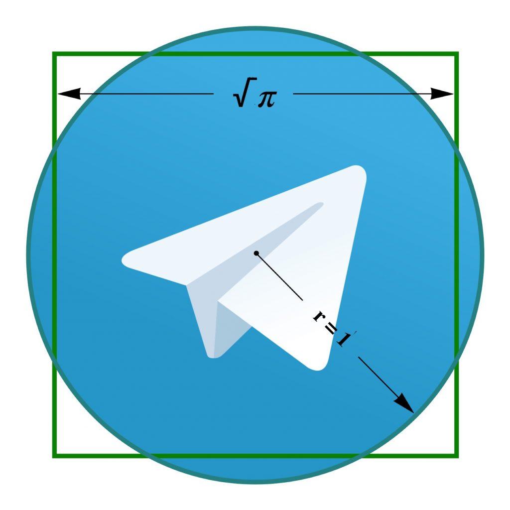 IMAGE: Telegram squaring the circle - E. Dans (CC BY)
