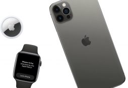 IMAGE: Apple Watch, iPhone and Airtag