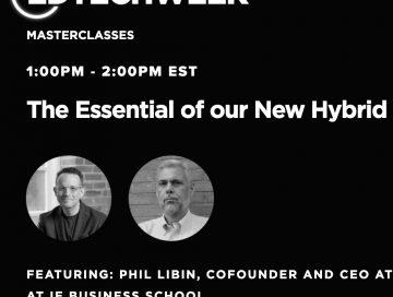 EDTECH Week 2021 . Fireside chat Phil Libin and Enrique Dans