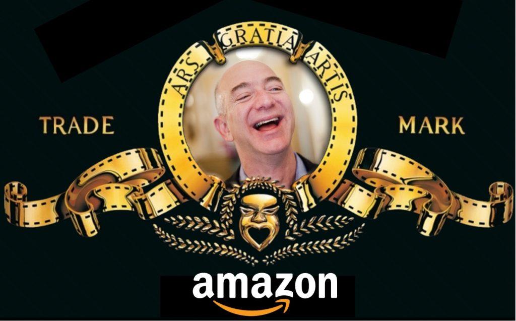 IMAGE: Jeff Bezos into MGM logo (E. Dans - CC BY)