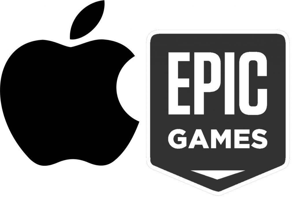 IMAGE: Apple and Epic Games logos