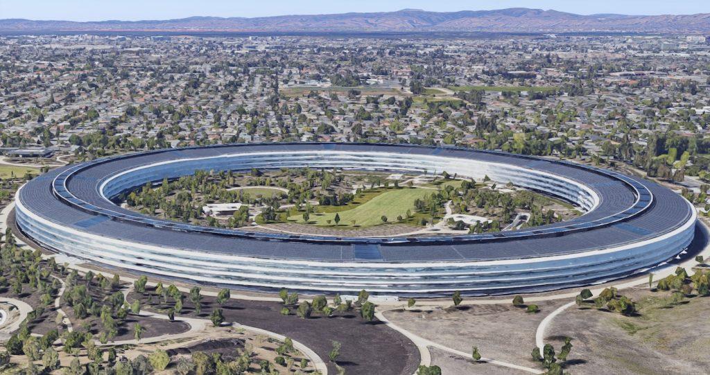 Apple Park in Cupertino, CA (IMAGE: Google Maps)