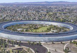 Apple HQ in Cupertino, CA (IMAGE: Google Maps)