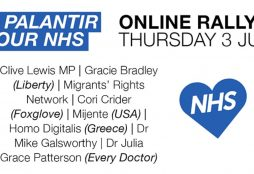 IMAGE: No Palantir in our NHS