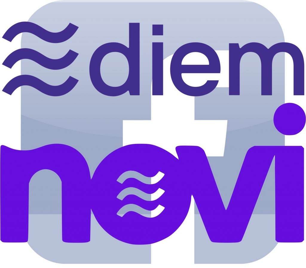 IMAGE: Diem, Novi and Facebook logos