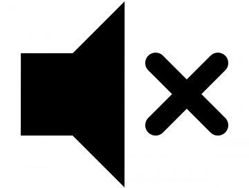 IMAGE: Mute icon (CC0)