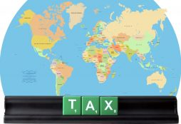IMAGE: World map and taxes